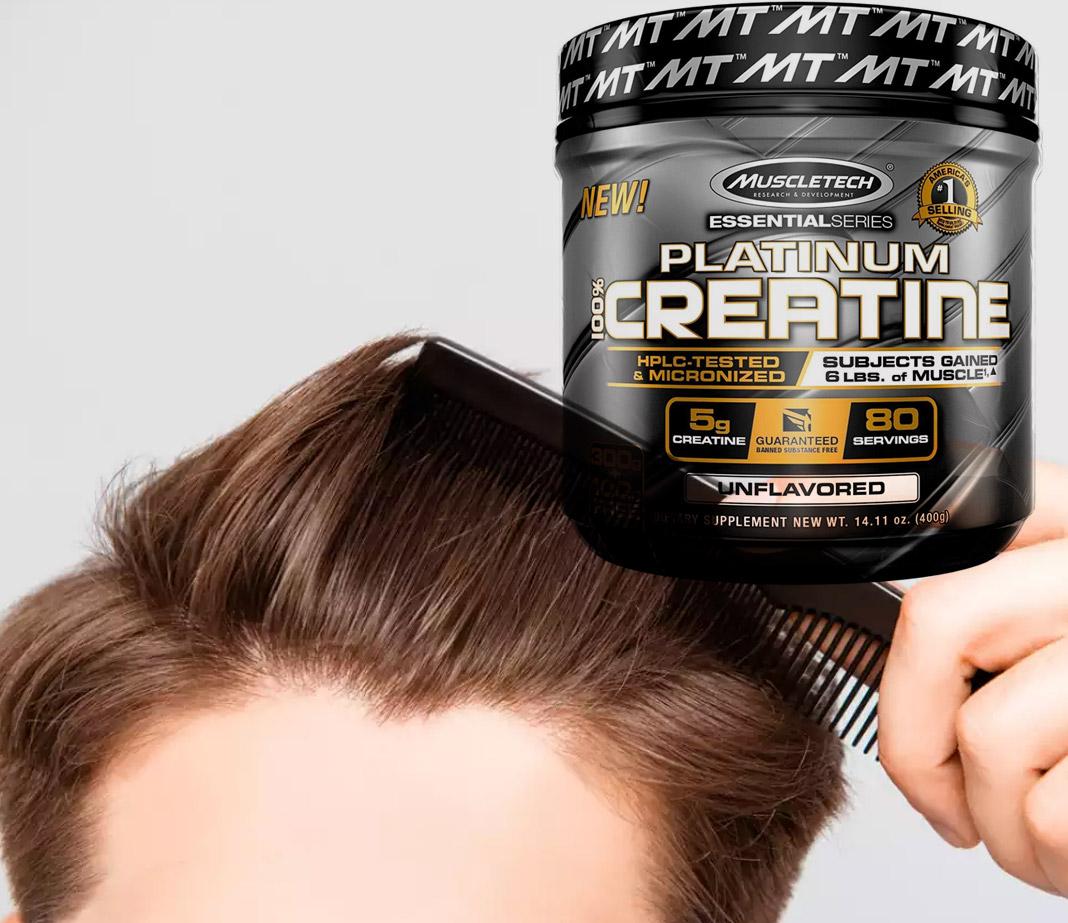 creatina e capelli